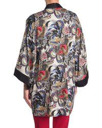 RED Valentino Initial Applique Kimono - Multicolour