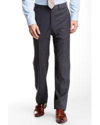 JB Britches - Torino Flat Front Wool Trouser - Lyst