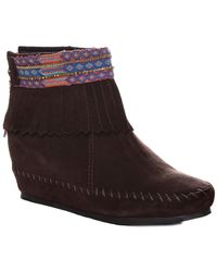 Kim & Zozi - Muse Fringed Bootie - Lyst