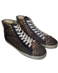 Kim & Zozi - Sierra Lace-up High Top Faux Fur Sneaker - Lyst