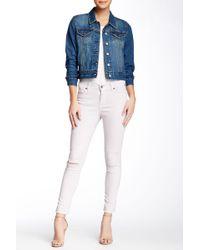 Pistola - Aline Distressed Skinny Jeans - Lyst