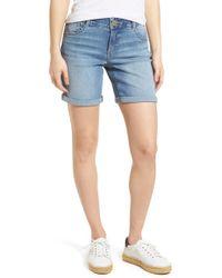 Wit & Wisdom - Ab-solution Denim Bermuda Shorts - Lyst