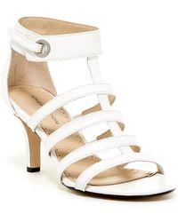 Adrienne Vittadini - Goldie Mid Heel Sandal - Lyst
