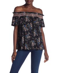 Cece by Cynthia Steffe - Off The Shoulder Dancing Top - Lyst