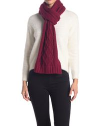 Lolë Chunky Cable Knit Scarf - Multicolor