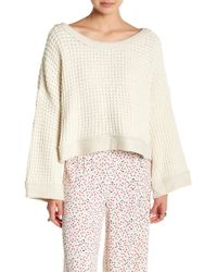 Free People - Maybe Baby Pullover Sweater - Lyst