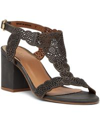 Klub Nico - Rosia Leather Block Heel Sandal - Lyst