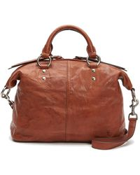 Frye - Veronica Leather Satchel - Lyst