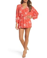 Knot Sisters | Coco Romper | Lyst