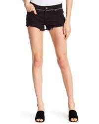 Tractr - Fray Hem Distressed Denim Shorts - Lyst
