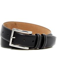 Cole Haan | Feathered Edge Leather Belt | Lyst