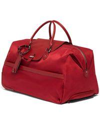 Lipault Plume Avenue Wheeled Duffel Bag - Red
