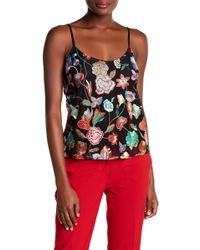 Cynthia Rowley | Floral Embroidered Tulle Trapeze Tank Top | Lyst