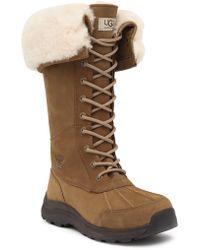 UGG - Adirondack Iii Waterproof Suede Tall Boot - Lyst