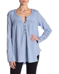 Free People - Sand Dune Henley - Lyst