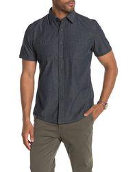 Grayers - Townsend Dobby Short Sleeve Shirt - Lyst