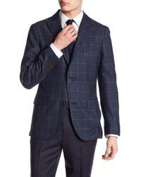 Flynt - Wayne Windowpane Classic Fit Jacket - Lyst