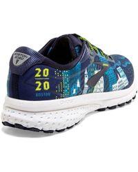 Brooks Ghost 12 Road Running Sneaker - Blue