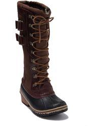 Sorel 'conquest Carly Ii' Waterproof Mid Calf Boot - Brown