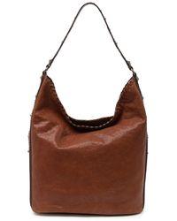 Frye Concho Leather Hobo - Brown