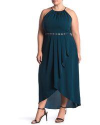 City Chic Lovestruck Maxi Dress - Green