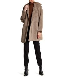 Cole Haan - Hooded Coat - Lyst