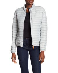 Save The Duck - Lightweight Water Resistant Puffer Jacket - Lyst