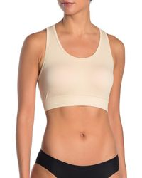 Yummie By Heather Thomson Long Line Criss Cross Back Bra - Natural
