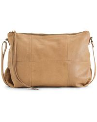 Day & Mood Molly Leather Crossbody Bag - Natural