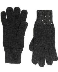 Vince Camuto - Rhinestone Rib Gloves - Lyst