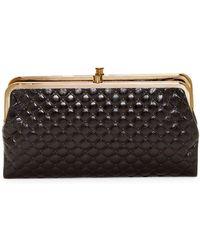 Hobo - Lauren Quilted Leather Clutch Wallet - Lyst