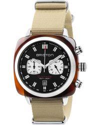Briston - Clubmaster Sport Chronograph Nylon Strap Watch, 42mm - Lyst