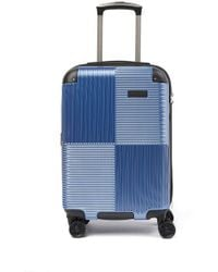 "Kenneth Cole Lexington Ave 8-wheel 20"" Spinner Suitcase - Blue"
