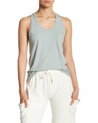 Michelle By Comune - Scoop Neck Racerback Tank Top - Lyst