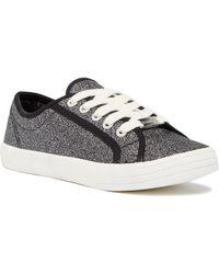 Bebe - Dane Glitter Sneaker - Lyst
