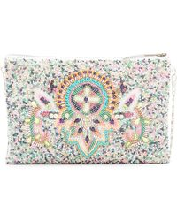 G-Lish Beaded Pouch - Multicolor