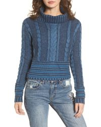 RVCA - Mix Up Knit Jumper - Lyst