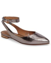 Caslon - (r) Abby Ankle Strap Flat (women) - Lyst