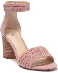 Vince Camuto - Jedina Ankle Strap Sandal - Lyst