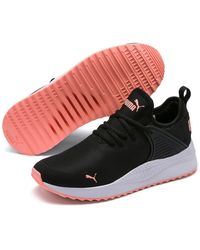 PUMA Pacer Next Cage Sock Sneaker - Black