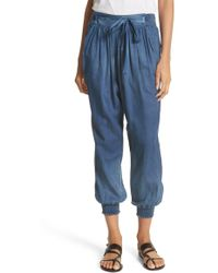 La Vie Rebecca Taylor - Tissue Denim Pants - Lyst