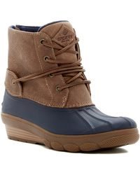 Sperry Top-Sider - Saltwater Wedge Tide Boot - Lyst
