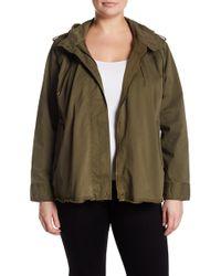 Lucky Brand - Raw Hem Military Jacket - Lyst