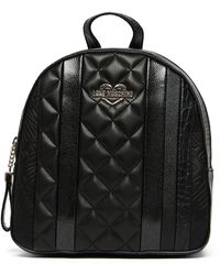 Love Moschino - Croc Embossed Backpack - Lyst