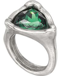 Uno De 50 - Star-trick Swarovski Crystal Accented Geometric Ring - Lyst
