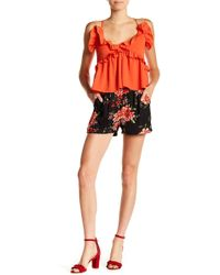 Romeo and Juliet Couture - Floral Shorts - Lyst