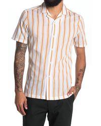 Reiss - Zest Stripe Regular Fit Shirt - Lyst