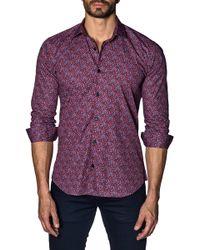 Jared Lang - Long Sleeve Modern Fit Shirt - Lyst