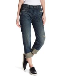 Vince - Union Cuffed Slouch Jeans - Lyst
