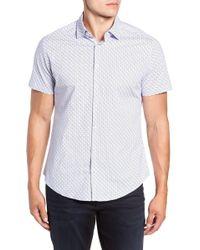 Stone Rose - Peace Sign Regular Fit Sport Shirt - Lyst